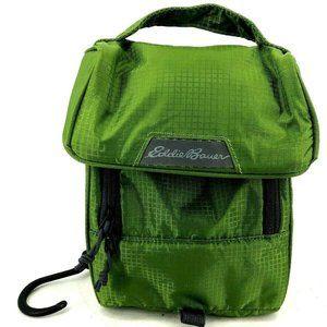 Eddie Bauer Mens Travel Bag Hang Toiletries Green